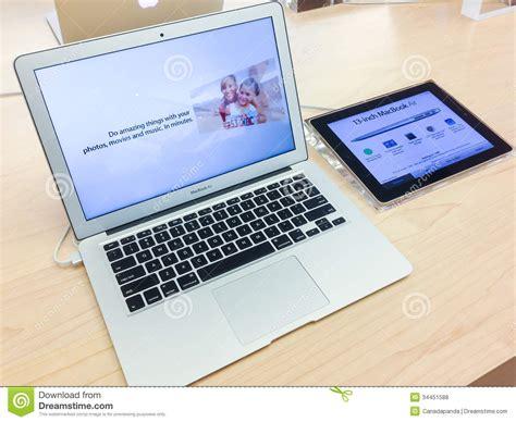 Macbook Air Apple Store Indonesia macbook air editorial stock photo image 34451588