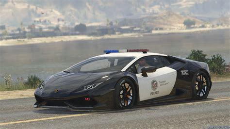 Lamborghini Police by Lamborghini Huracan Italian Police And Lapd 1 1 для Gta 5