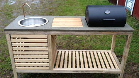 Rustic Kitchen Island Plans build a portable outdoor kitchen lifehacker australia
