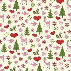 5 sheets of retro christmas design wrapping paper