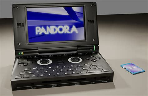 open source handheld console pandora targeting wiz in open source gaming handheld war