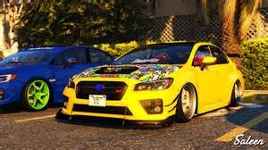 Subaru Wrx Tuning 2016 Subaru Wrx Sti Replace Tuning Gta5 Mods