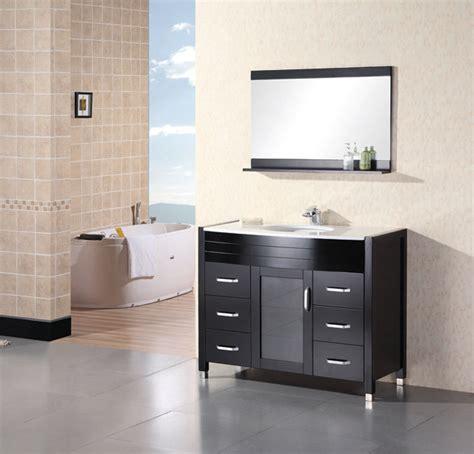 adorna 36 quot contemporary bathroom vanity set espresso vanity design element cascade espresso finish single sink vanity