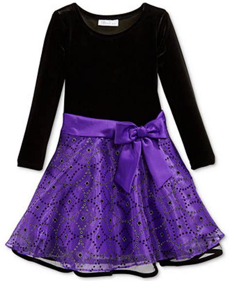 Bonnie Jean - bonnie jean embellished bow dress