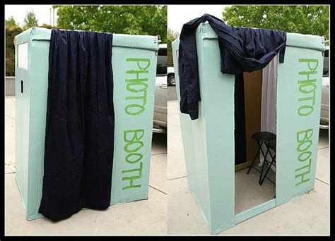 Handmade Photo Booth - 20 diy photo booth ideas diy ready