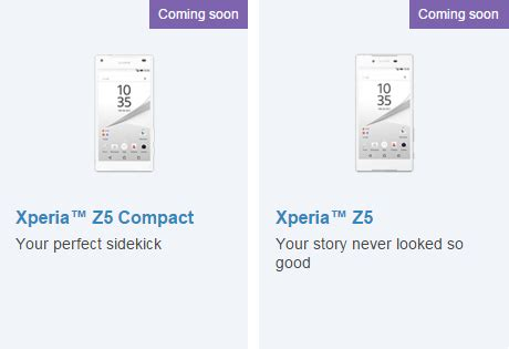 usa buyers guide for sony xperia z5 family xperia blog xperia z5 and z5 compact heading to us on 7 february