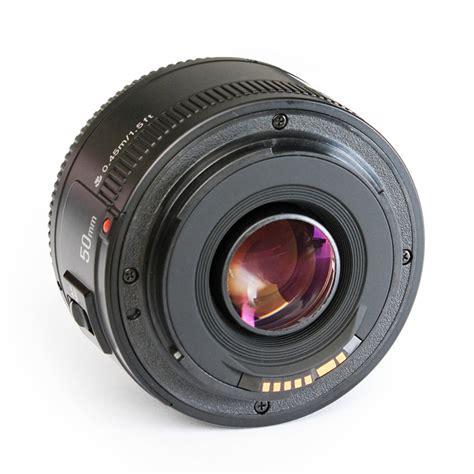 Yongnuo Lens Ef 50mm F 1 8 For Canon Eos M M2 M3 M10 M5 M6 Free Uv Yongnuo Yn Ef 50mm F 1 8 Af Lens Aperture Auto Focus For