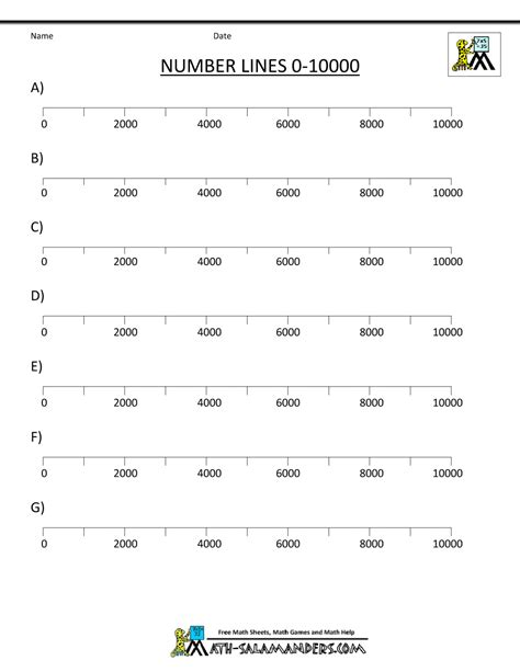 printable number line up to 1000 number lines to 1000 worksheet search results calendar