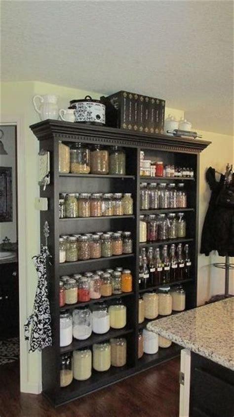 Jar Pantry Storage by Pantry Shelf Beautiful Jars And Diy Kitchen Cabinets