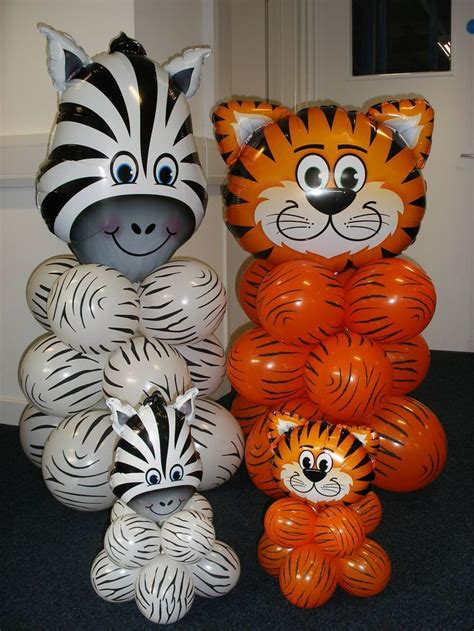 tiger centerpieces 17 best images about balloon decor for on mickey mouse balloons baby shower