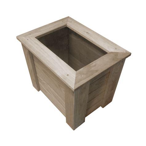 rectangle planter box rectangle planter box 750x500x500 breswa outdoor furniture