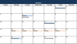 excel 2013 calendar template make a 2017 calendar in excel includes free template