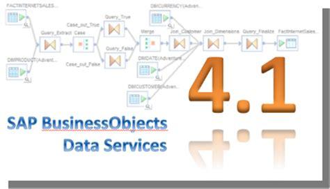 sap bo data services resume