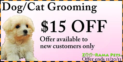 groupon grooming zoo coupons coupon valid