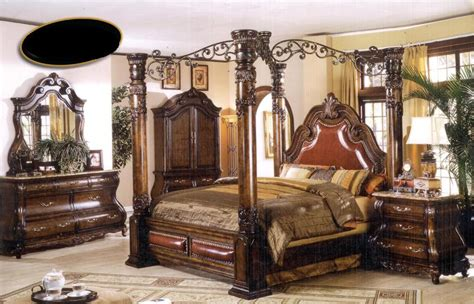 king canopy bedroom sets sale king bedroom set sale marceladick com