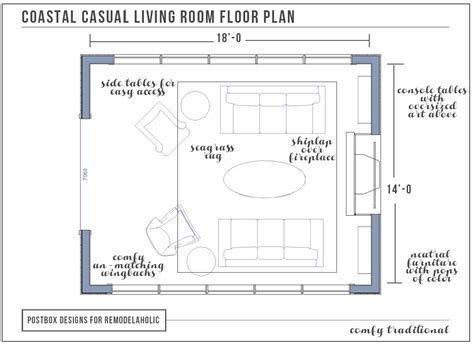 living room floor planner remodelaholic coastal casual living room design tips