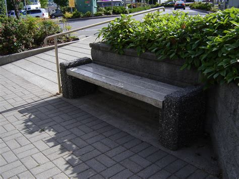 precast concrete bench mall benches mackay precast products