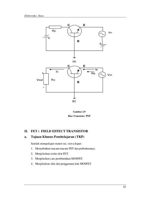 sifat transistor efek medan pemeliharaan rangkaian elektronik