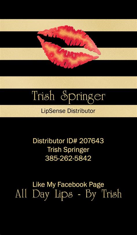 Lipsense Card Template by 1000 Ideas About Makeup Business Cards On