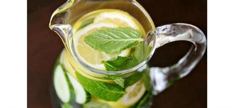 Lemon Cucumber Mint Water Detox Reviews by Make And Sip On These Detox Drinks To Cleanse The