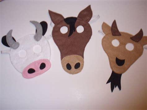 printable nativity animal masks 270 best fejd 237 szek images on pinterest animals costumes