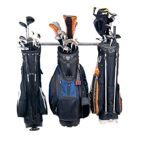 Golf Bag Rack monkey bars golf bag storage rack small at intheholegolf