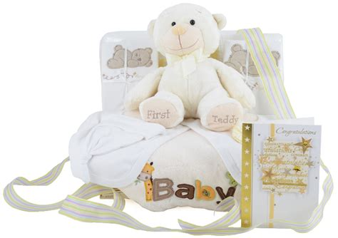 unisex gifts deluxe unisex baby gift basket at 163 59 99