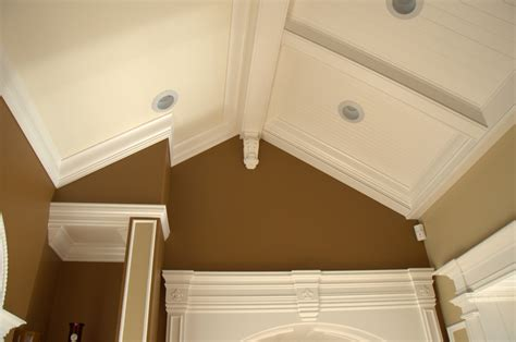 Crown Molding On Angled Ceiling by Crown Molding On Sloped Ceiling Pictures Studio