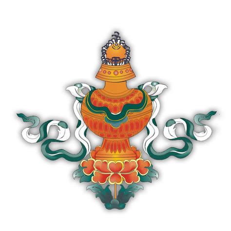 the eight auspicious symbols represents the offerings to