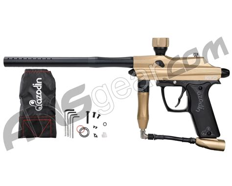 Kaos Gold azodin kaos paintball gun gold black