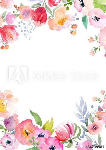 3d Motive 4668 by Watercolor Roses Card Template Buy This Stock