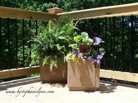 diy patio paver planter paver planters