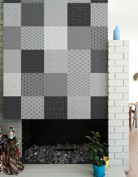 Patchwork Wall Tiles - patchwork wall tiles adhesive graphic wall tiles blik