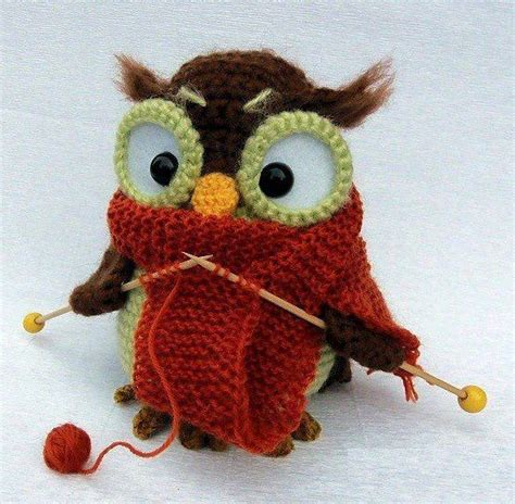 how to knit a owl knitting owl knit and crochet
