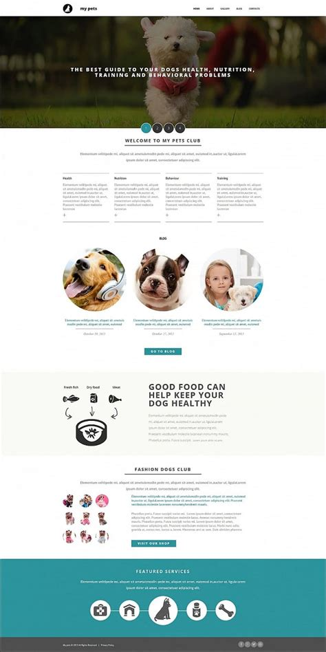 website templates for kennels how to make a dog website simple tips for breeders