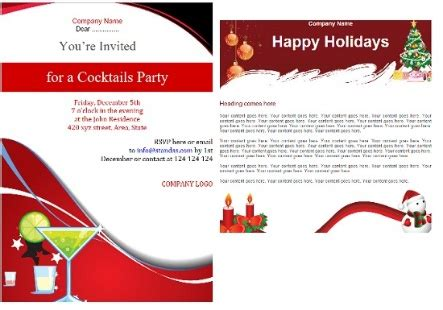 Email Templates For Your Holiday Emails And Invites Ms Outlook For Business Constant Contact Happy New Year Template