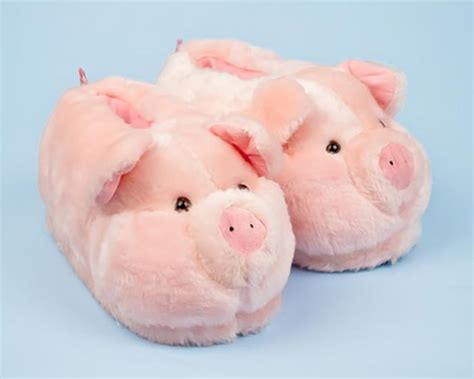 pig house shoes pig slippers pig animal slippers pig slippers