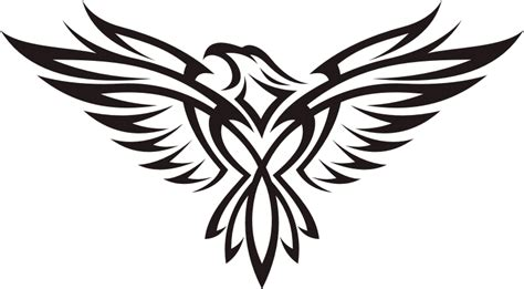 plain tribal eagle tattoo design tattooimages biz