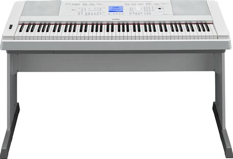 Meja Keyboard Yamaha Yamaha Dgx 660 Digital Piano In White Finish Yamaha
