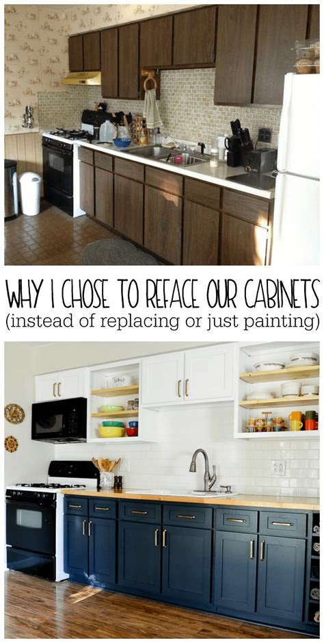 replacing cabinet doors instead of buying new cabinets or