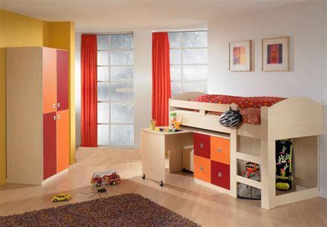 hochbett ahorn hochbett ahorn orange rot mit schreibtisch kommode