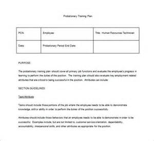 training plan template 23 free pdf documents download