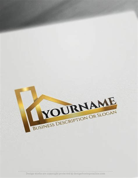 logo maker free for business card template real estate logos construction logo designs and realty