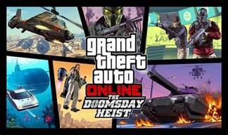 trailer san s day gta 5 doomsday heist release date rockstar adds