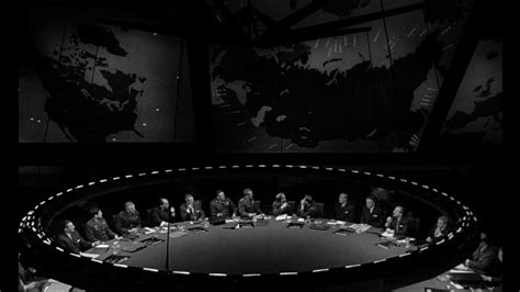 Dr Strangelove War Room by Palmer Commentates On Dr Strangelove Or How I