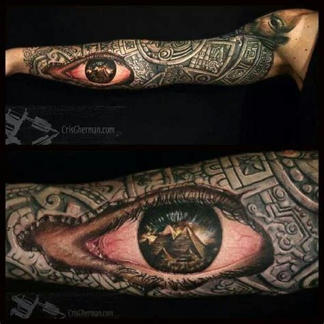 tattoo eye sleeve 12 best images about tattoos on pinterest evil tattoos