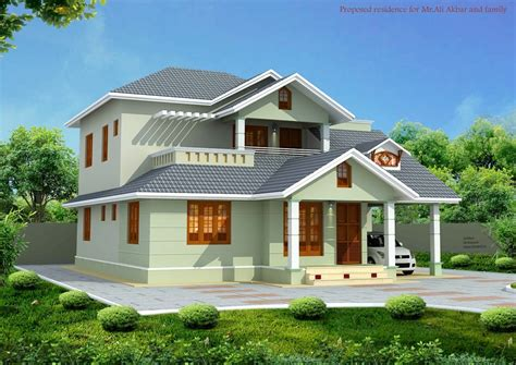 kerala style house elevation with car porch and