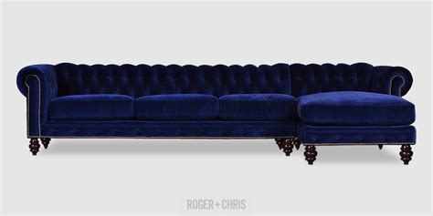 blue velvet sectional sofa best blue velvet sofas roger chris