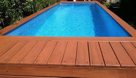 Different House Designs by Diy Container Pool For Your Home Cool House To Home