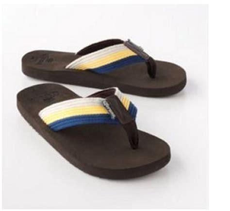 corona sandals new corona striped flip flops sandals mens large 10 11 nwt